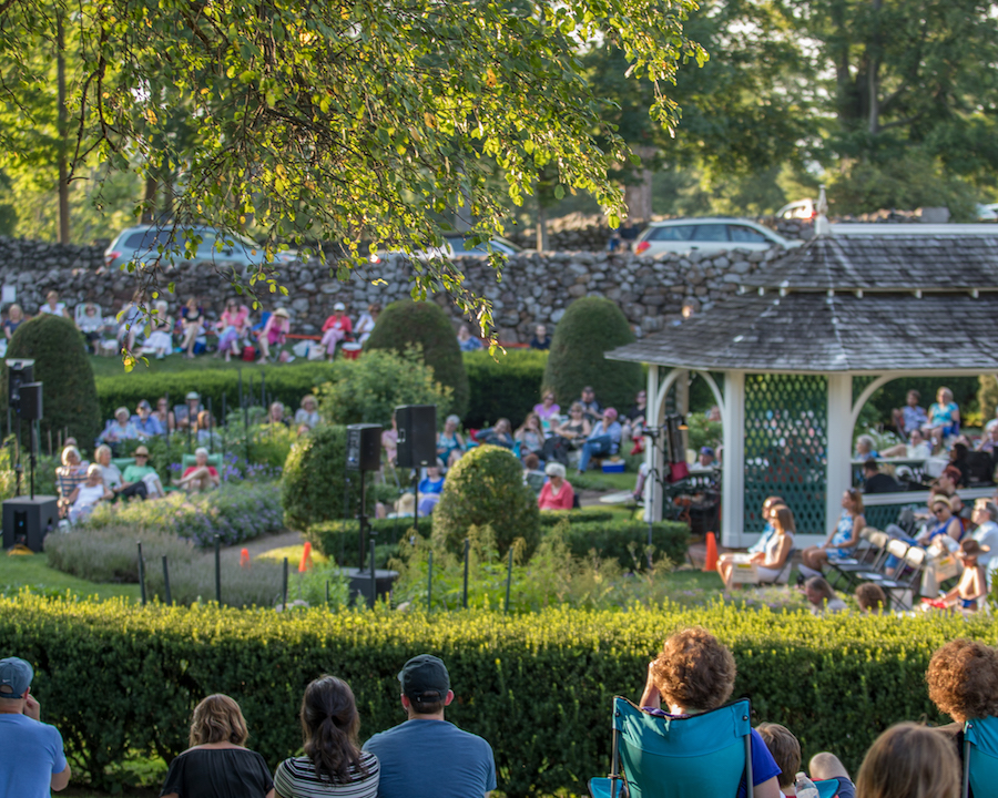 Last summer in the Sunken Garden. Photos Courtesy Hill-Stead Museum.