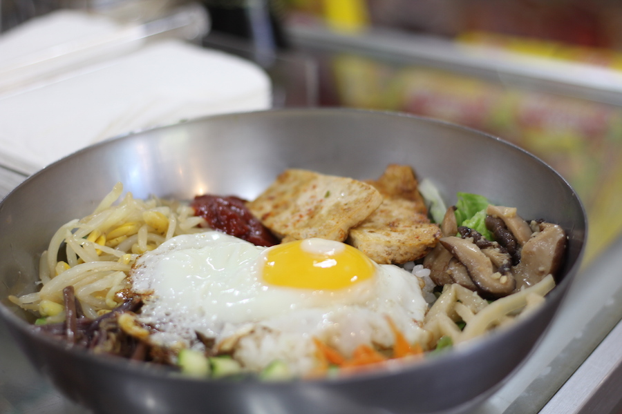 "Referred to lovingly as ""Mrs. Kim,"" Yoon-ock Kim is semi-famous in East Rock for her Bi Bim Bap."