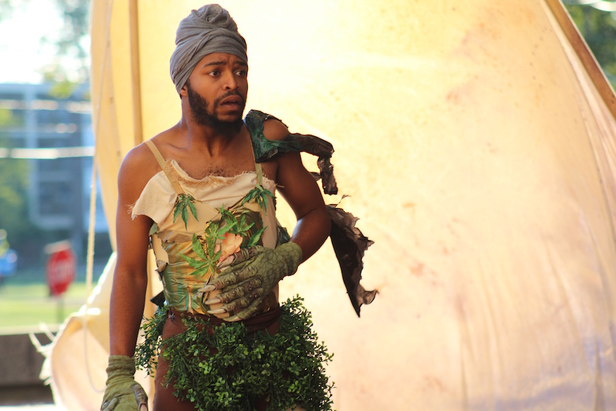 Myles Tripp as Caliban.