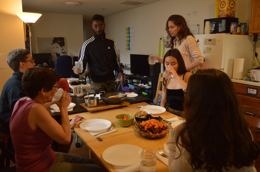 Homecooked Inc.'s guests include students, young professionals, newcomers to New Haven and the occasional townie who wants to know what it's all about.