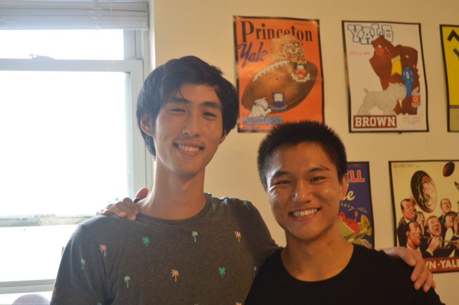 Co-founders Hojung Kim and Kevin Zhen.