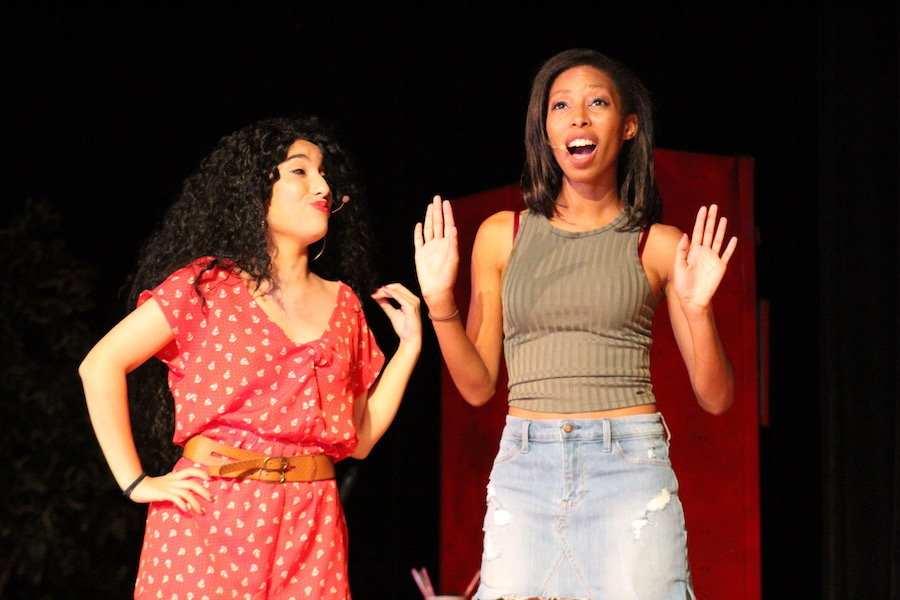 Maria Hendricks and Faith Fernandez as Daniela and Vanessa.