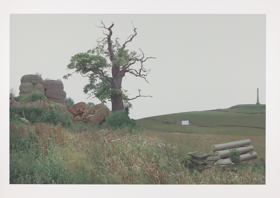 John Goto, Farmer (High Summer portfolio), 2000–2001, giclée print on Somerset archival paper, Yale Center for British Art, Friends of British Art Fund, courtesy of the artist and Dominique Fiat, Paris, © John Goto, photo by Richard Caspole.