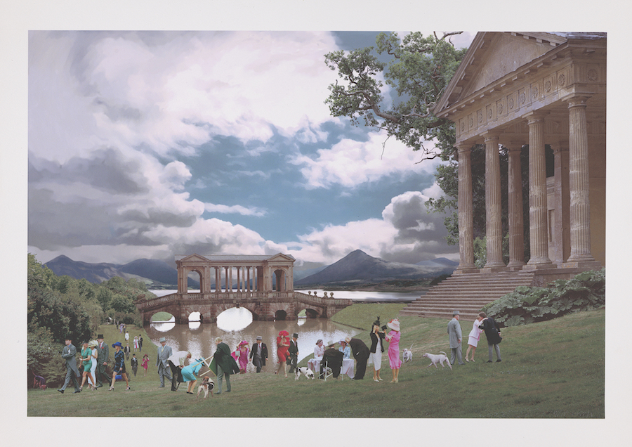 John Goto, Society (High Summer portfolio), 2000–2001, giclée print on Somerset archival paper, Yale Center for British Art, Friends of British Art Fund, courtesy of the artist and Dominique Fiat, Paris, © John Goto, photo by Richard Caspole.