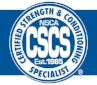 NSCA CSCS Certified Training