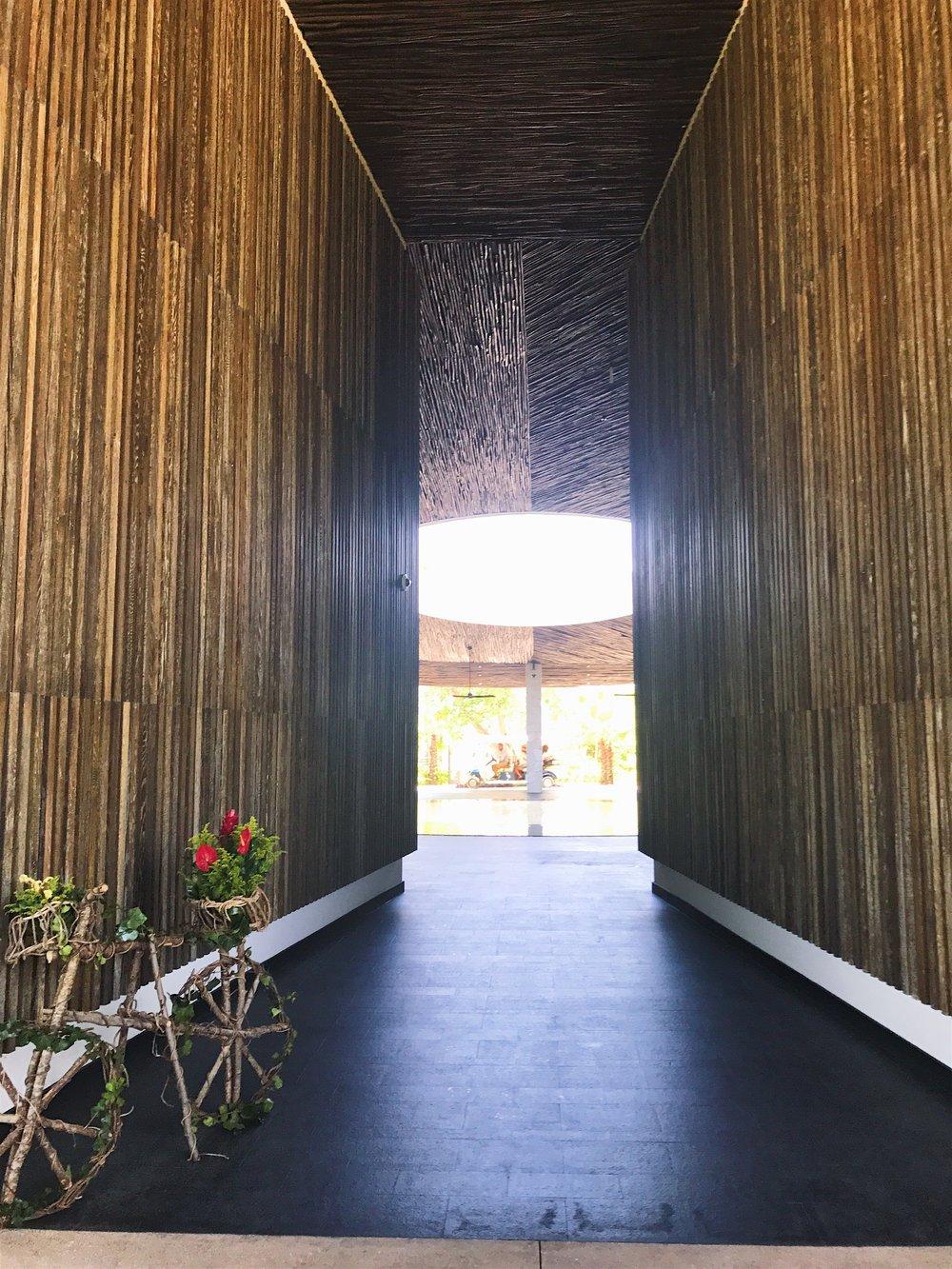 Entrance of the Andaz Mayakoba
