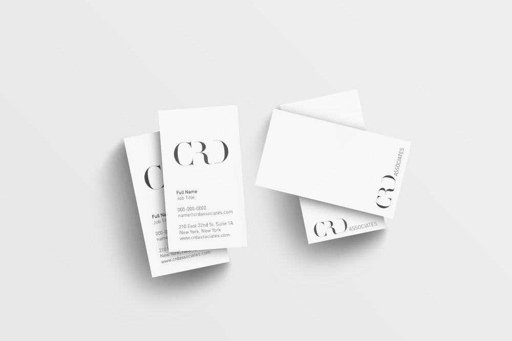Visual Identity, Print Design and Web Development for Interior Design firm CRD Associates.  Year: 2017   www.crdassociates.com