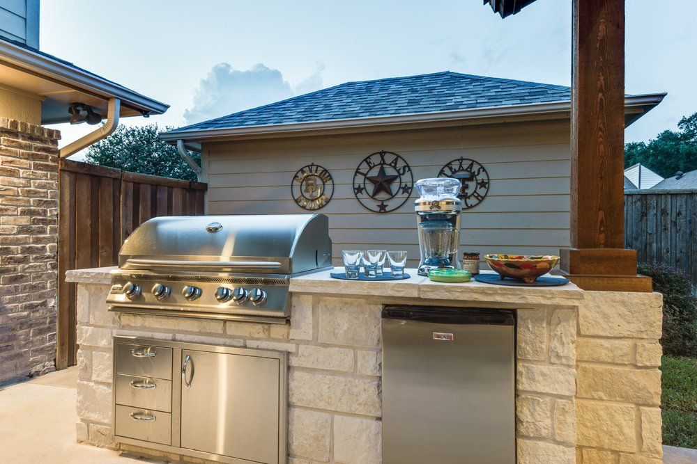 Grilling and Cooking area