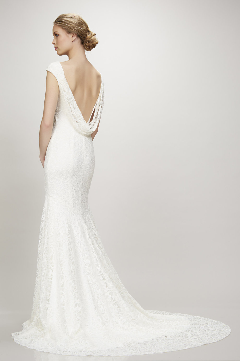 Lace Theia wedding dress from The Bridal Finery