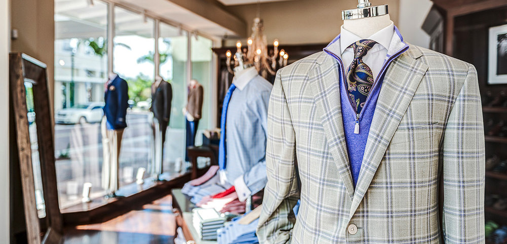 John Craig Clothier in winter park, fl weddings