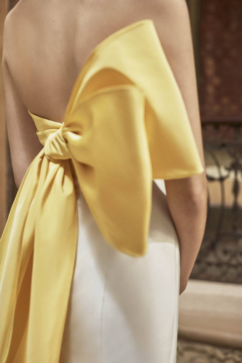 Carolina Herrera Spring/Summer 2019 Bridal Collection look 5