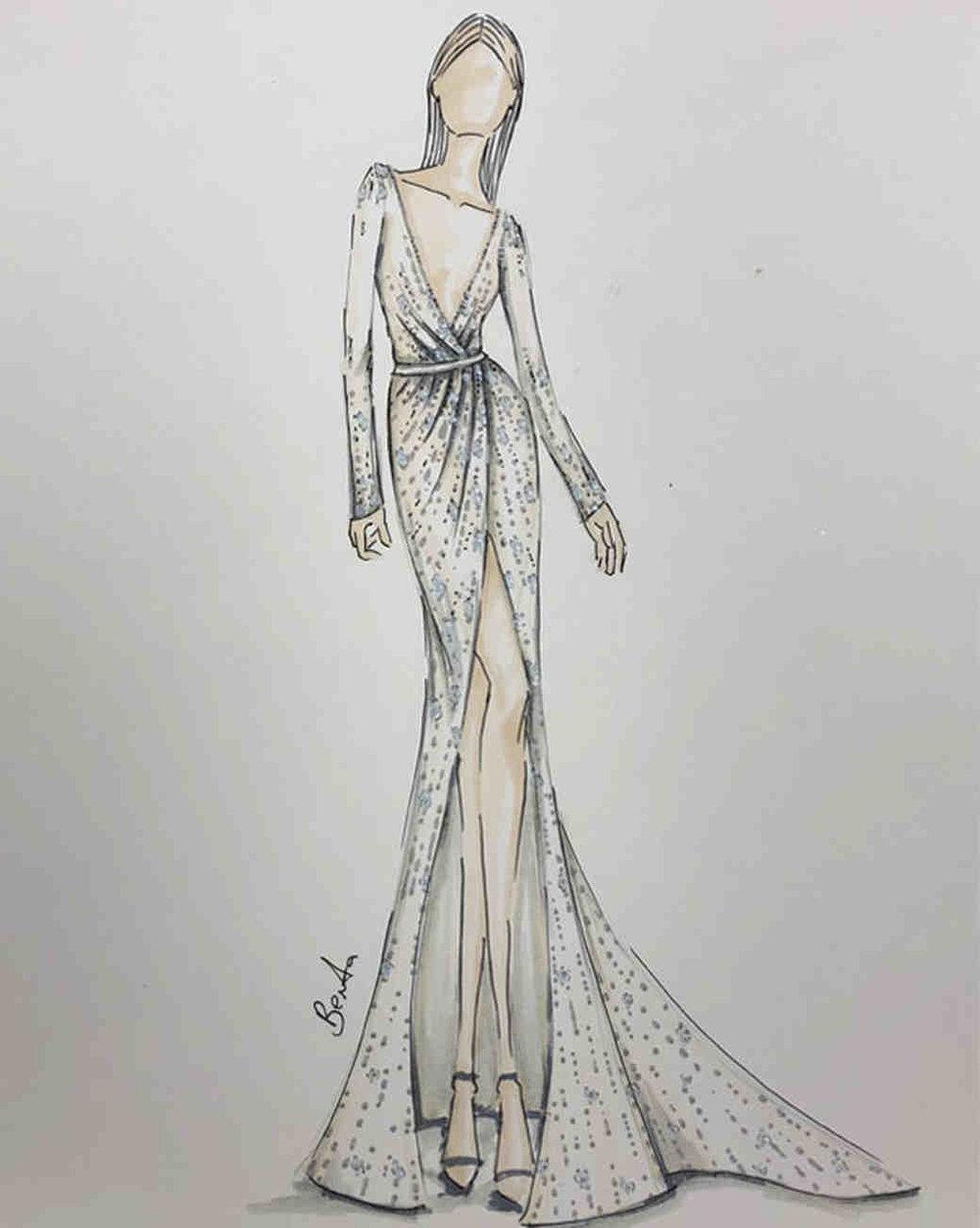 Berta's wedding dress collections Spring 2019