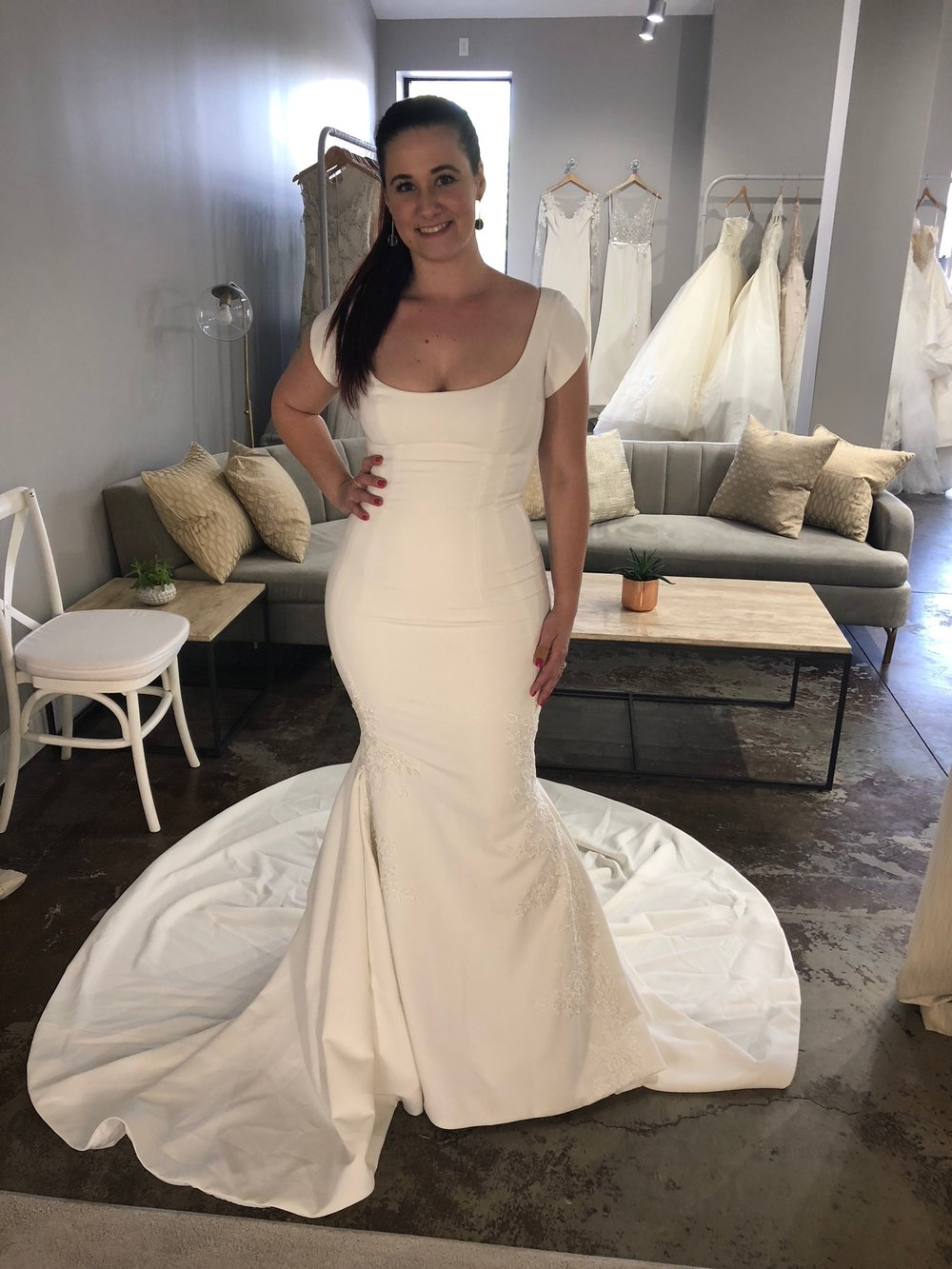 For a tailored version of Meghan Markle's Wedding Dress - Carter by Ines Di Santo