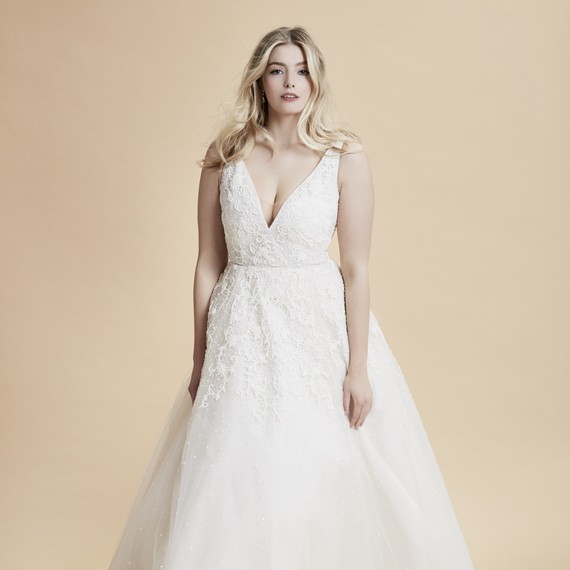 Anne Barge wedding dress