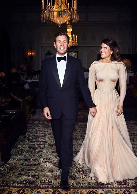 Princess Eugenie reception wedding dress celebrity weddings 2018