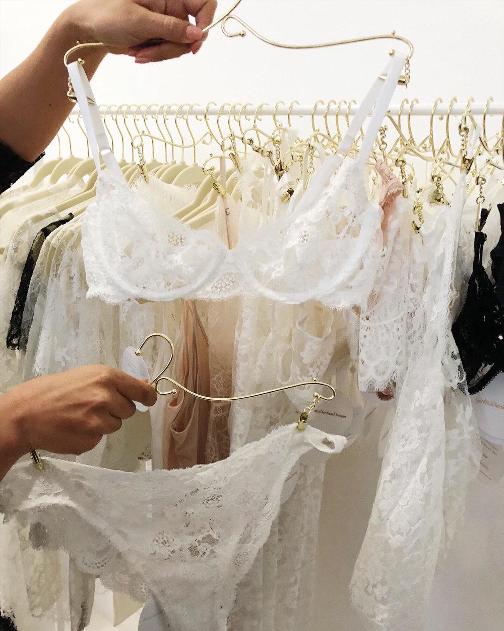 bridal lingerie wedding night essentials honeymoon wear bridal wear