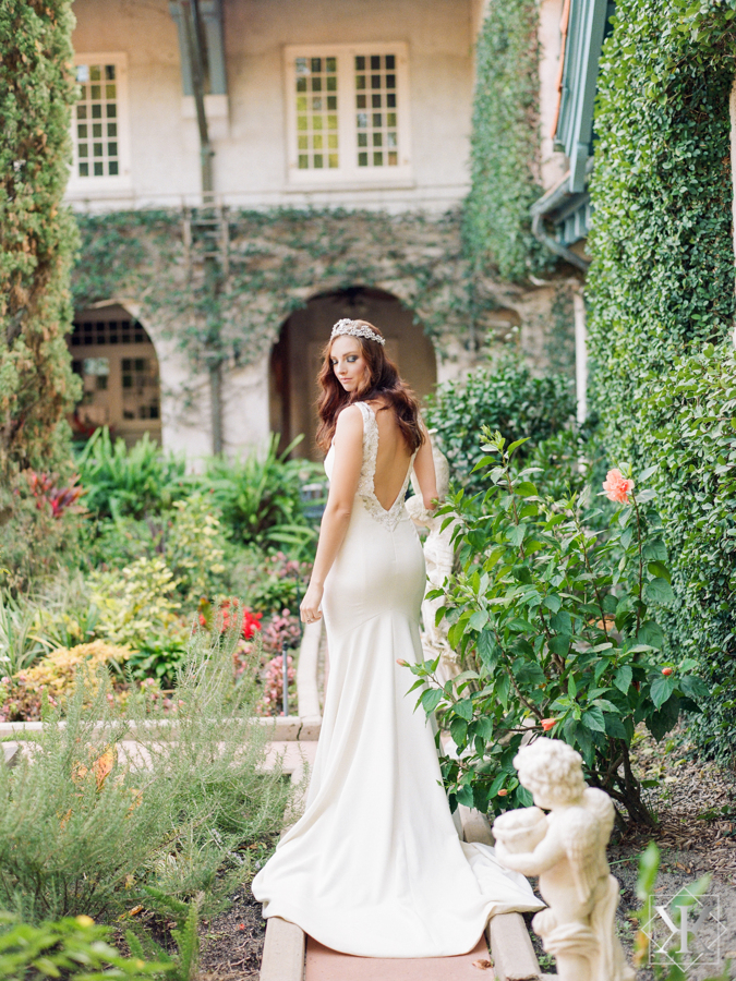 garden wedding theia wedding gown low back wedding gown orlando wedding vendors