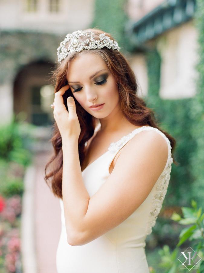 maria elena headpieces crown wedding gown white dress theia wedding gown