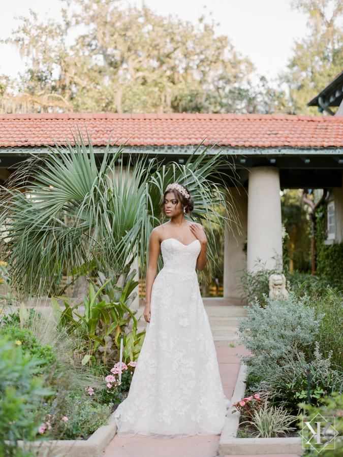 Ines Di santo ball gown orlando wedding vendors