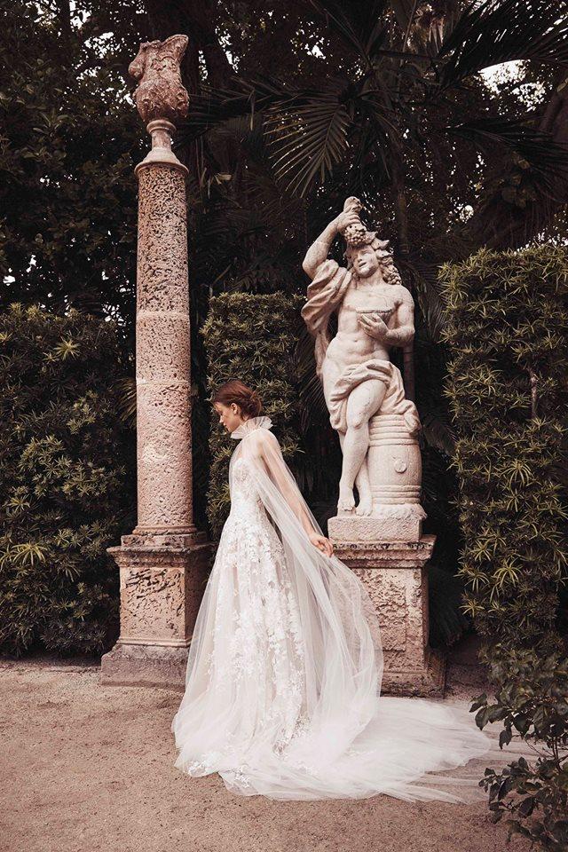 tulle bridal cape bridal trends bridal fashion