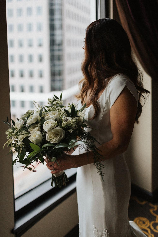 ines di santo carter gown downtown orlando luxury wedding
