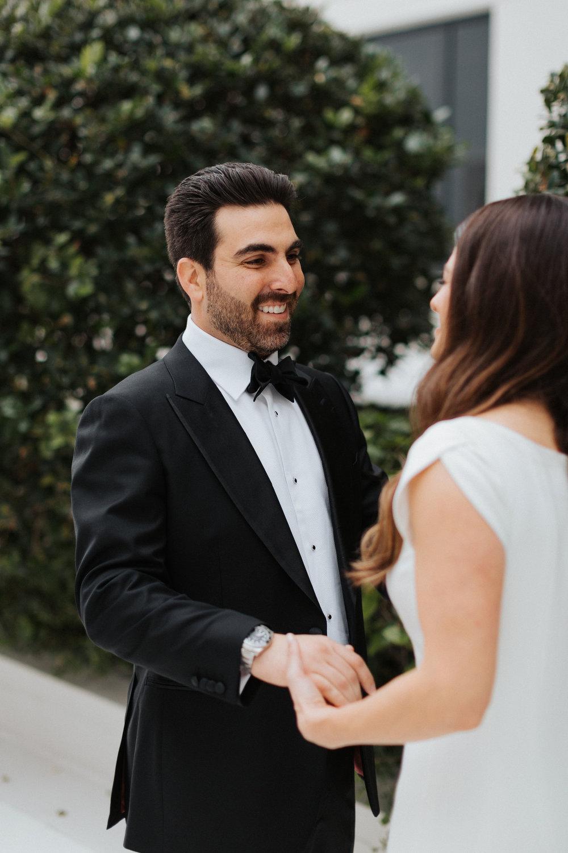 first look wedding downtown orlando