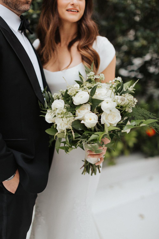 carter ines di santo in bloom florist downtown orlando wedding
