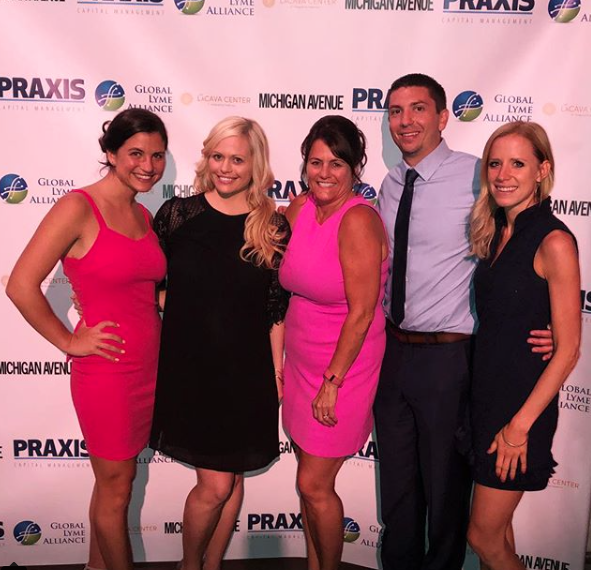 At the Annual Chicago Sublyme Soiree hosted by The Global Lyme Alliance