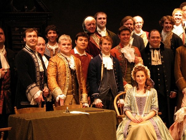 1776, Pennsylvania Centre Stage, 2006 role of Edward Rutledge