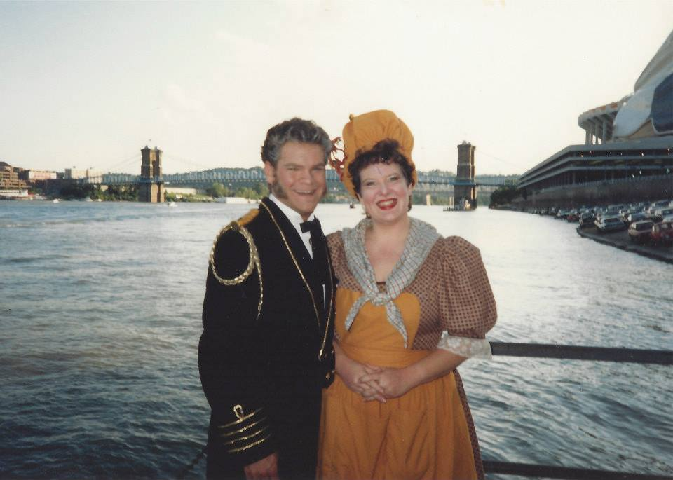 Pirates of Penzance 1989, Showboat Majestic Theatre, Captain Corcoran