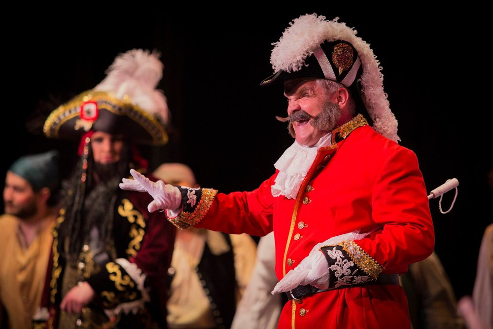 Pirates of Penzance, 2013, Major General Stanely, Penn State Opera Theatre