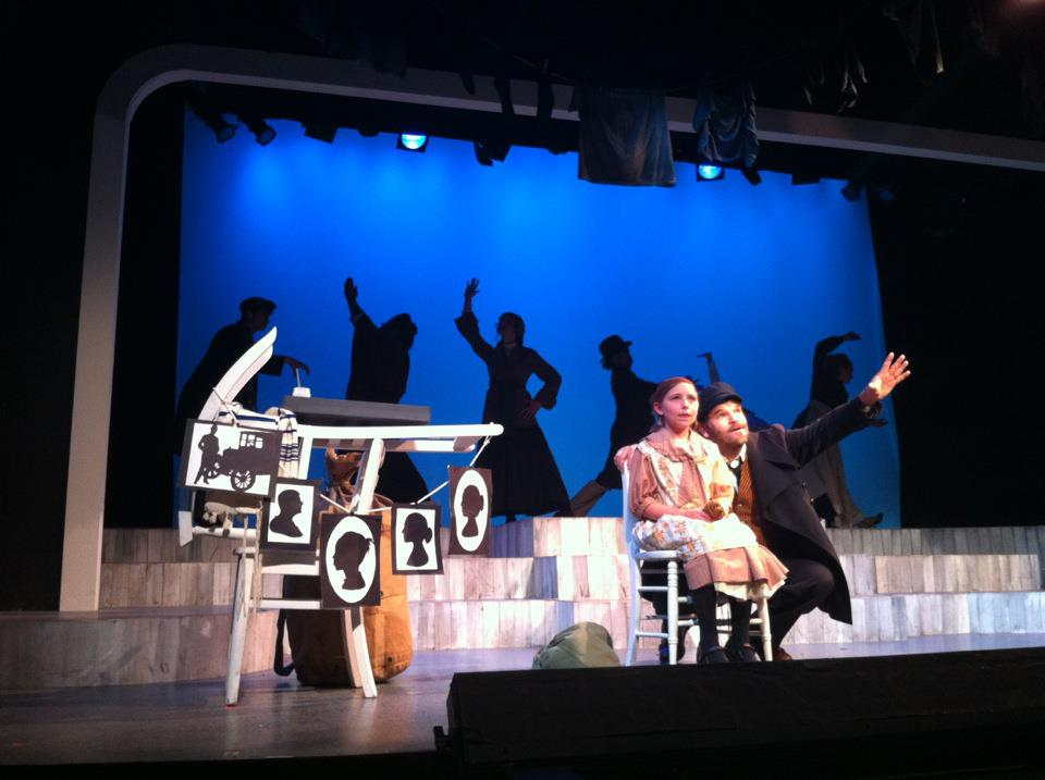 Ragtime, New London Barn Theatre, 2012, role of Tateh