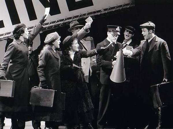 TITANIC, National Tour 1999- role of Herbert Pitman
