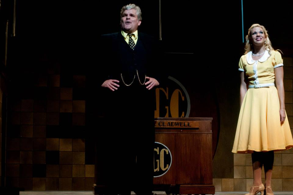 Urinetown, Theatre Raleigh, 2015, role of Caldwell B Cladwell