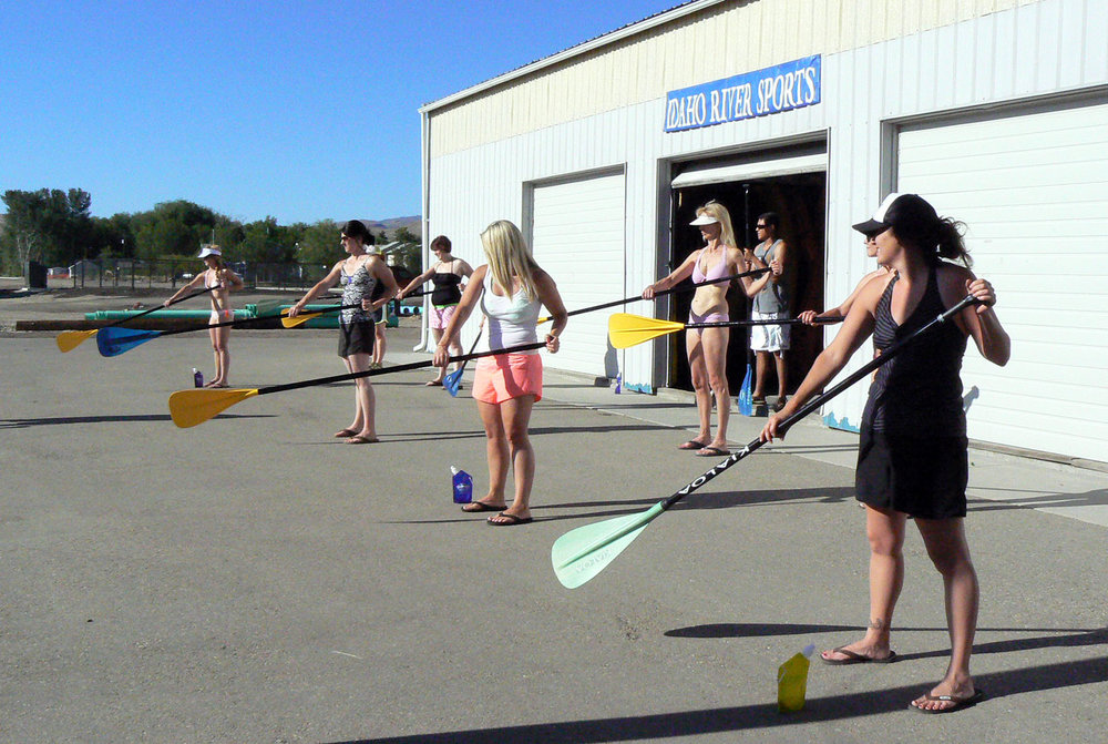 Teaching Jumpers how to SUP!
