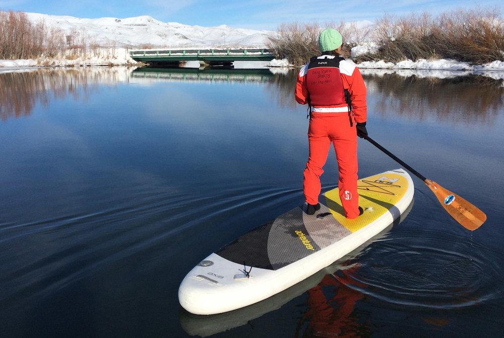 Silver Creek Winter SUP