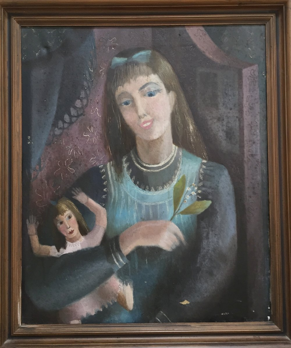 Girl with Doll  - Oil on canvas   61 x 51 cms             Normal   0               false   false   false      EN-US   JA   X-NONE                                                                                                                                                                                                                                                                                                                                                                                                                                                                                                                                    /* Style Definitions */ table.MsoNormalTable 	{mso-style-name: