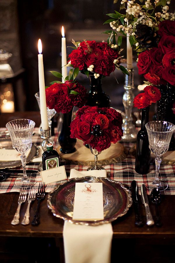 Glamorous Christmas Table :: House of Valentina