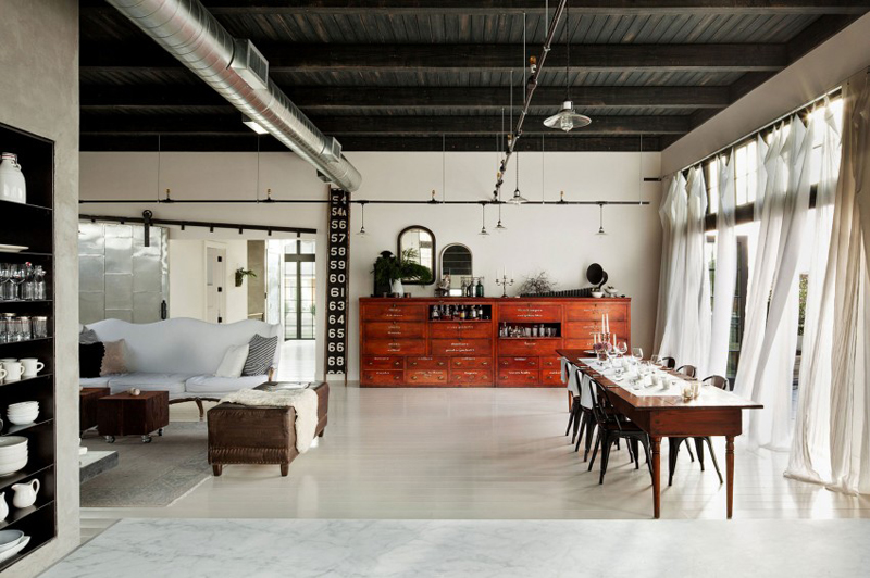 Industrial Loft Conversion :: House of Valentina
