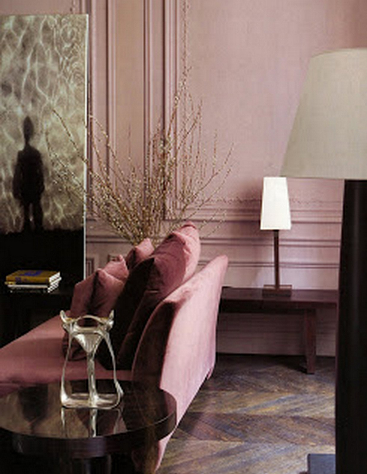 Pink Living Room :: House of Valentina