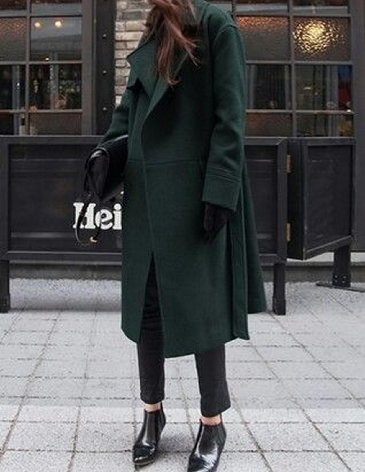 Green Coat :: House of Valentina