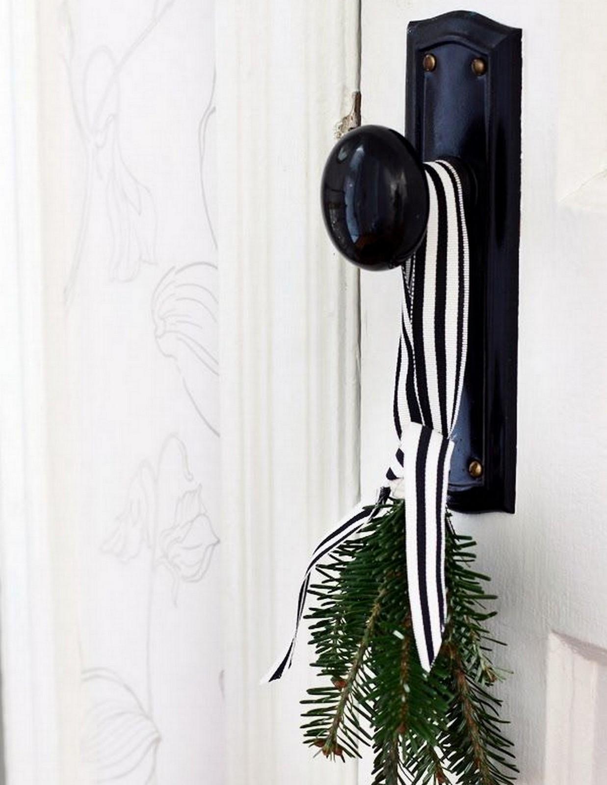 Black Striped Christmas Ribbon :: House of Valentina