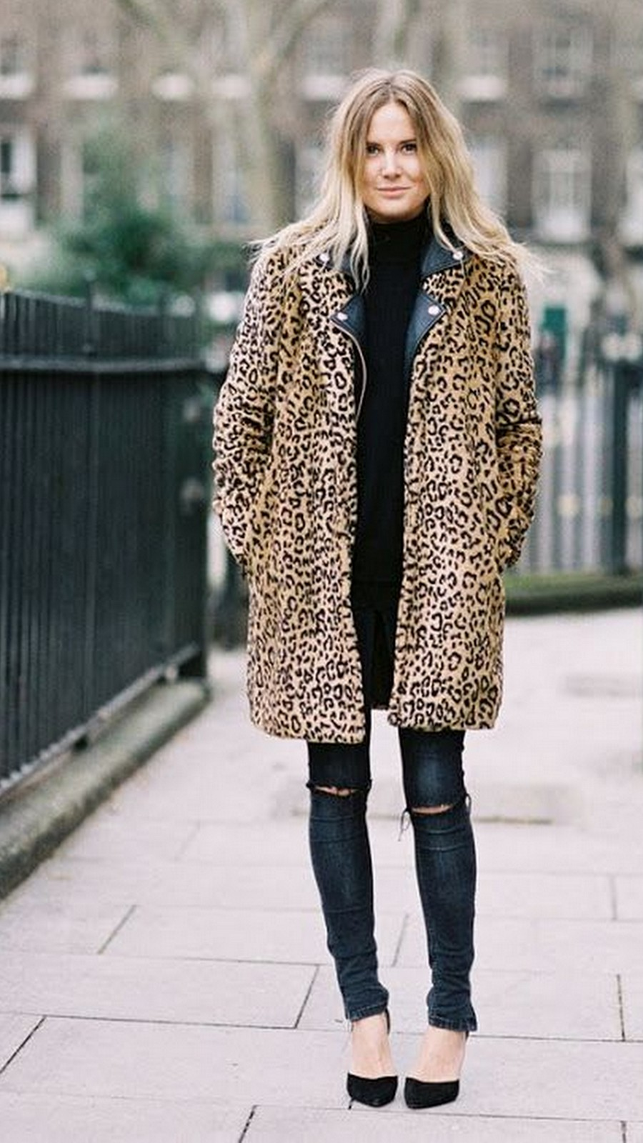 Cheetah Coat :: House of Valentina