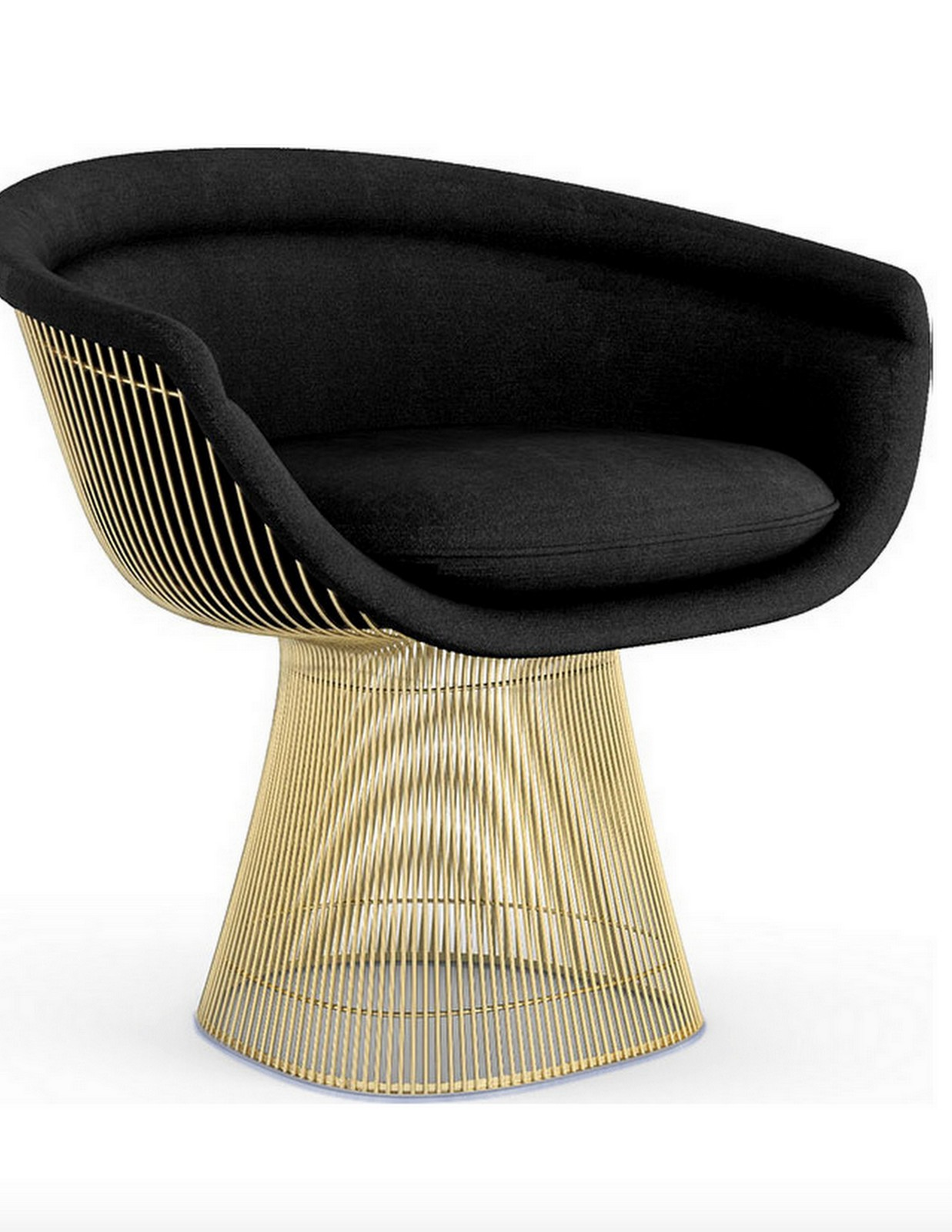 Gold Knoll Chair :: House of Valentina