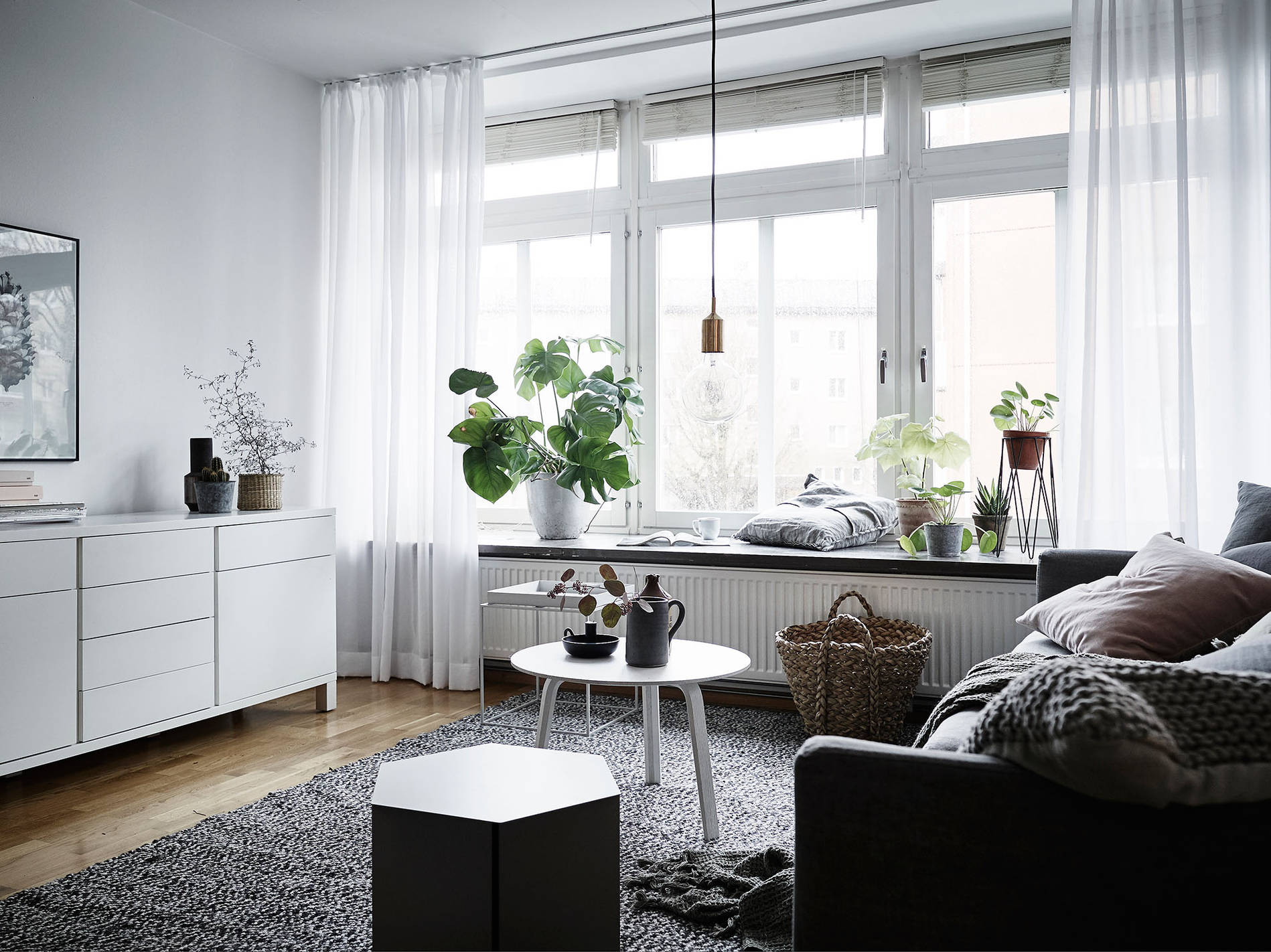 Swedish winter Living Room :: House of Valentina