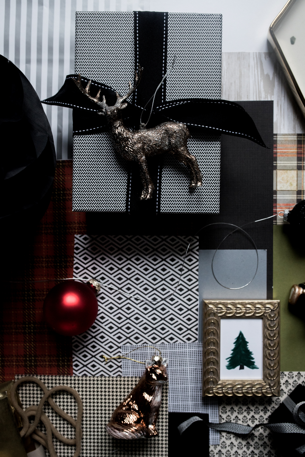 Glamorous Christmas Story Board :: House of Valentina