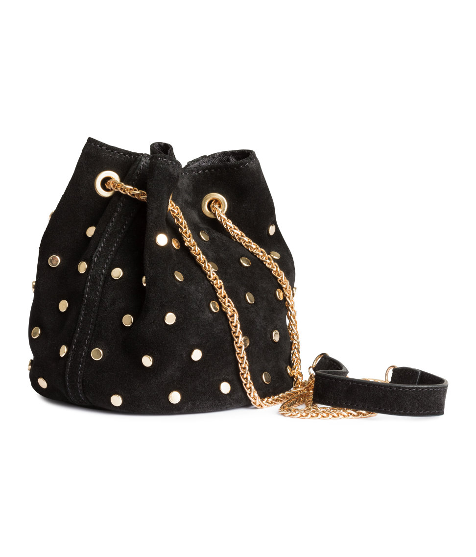 Black and Gold Bag :: House of Valentina