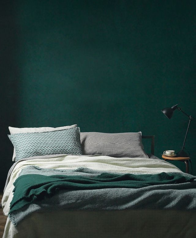 Emerald Green Bedroom :: House of Valentina