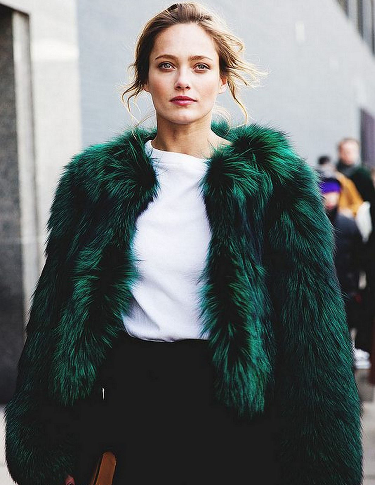 Emerald Fur Coat :: House of Valentina