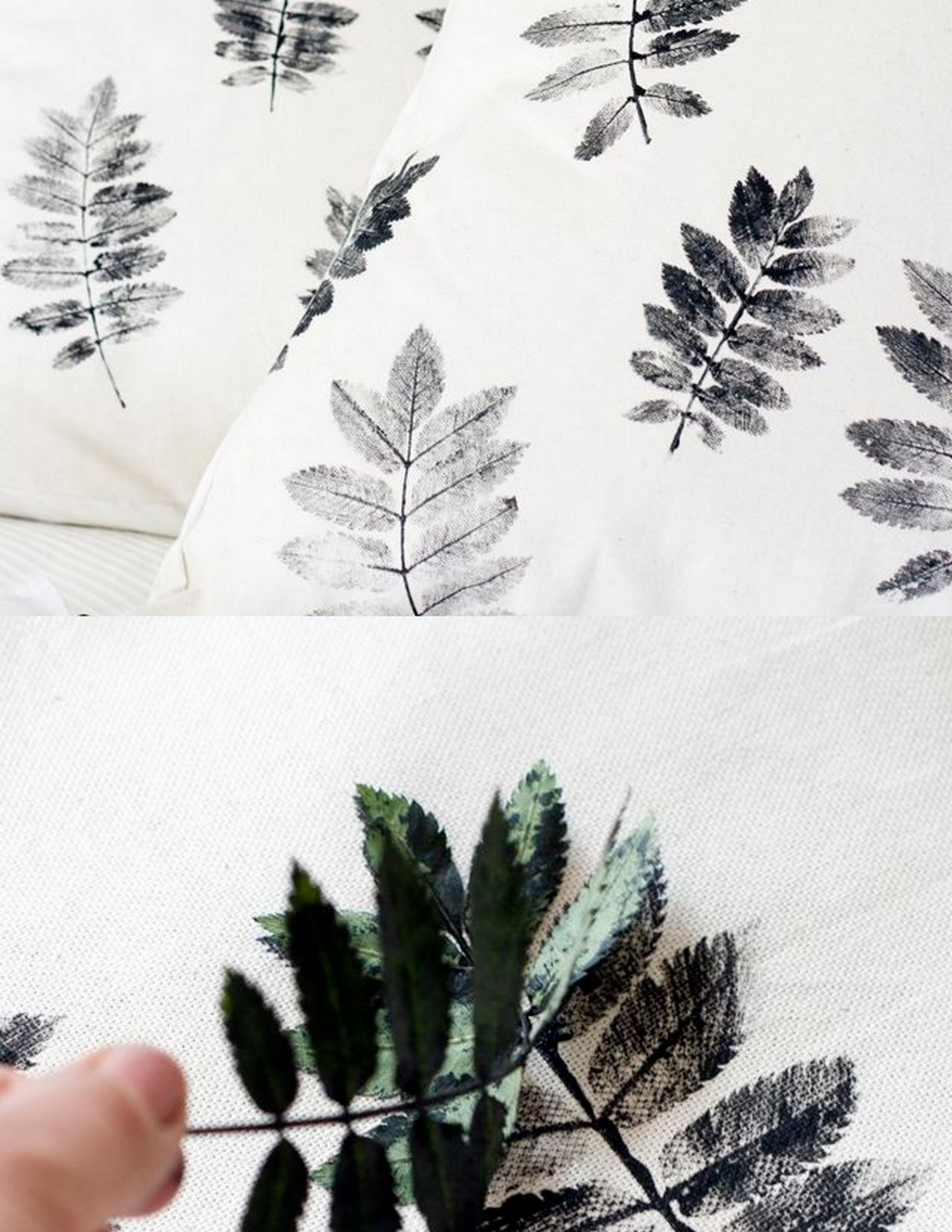 Leaf DIY Pillow